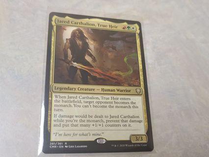 Magic the gathering mtg jared Carthalion true heir