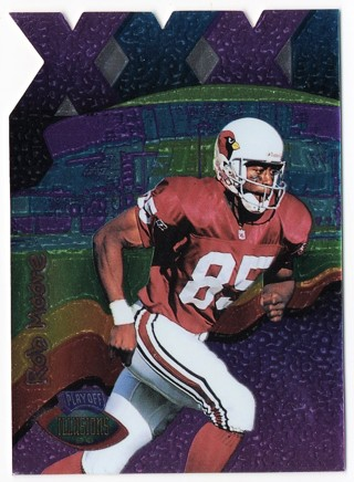 1996 Playoff Illusions XXXI DC - Rob Moore - Cardinals