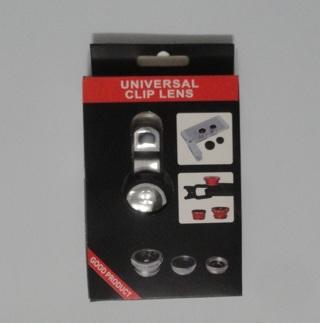 Universal Cell Phone Clip Lens Set - NIB