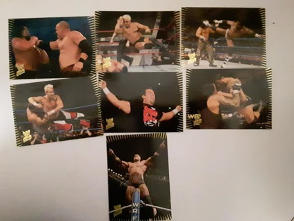 7- 2007 WWE ACTION WRESTLING CARDS