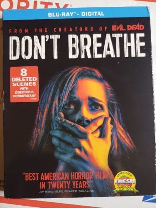 Don't Breathe Blue-ray movie