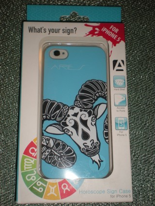 NIB Aries Horoscope Cell Phone Case for the iPhone 5
