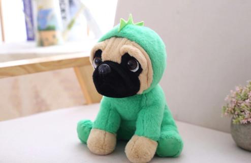 20CM Stuffed Simulation Dogs Plush Sharpei Pug Lovely Puppy Pet Toy Plush Animal Toy Children Kids