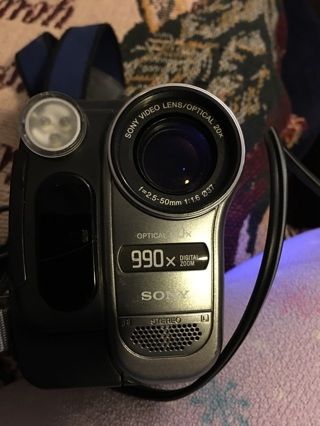 Sony Optical 20 X @@@Video Camera