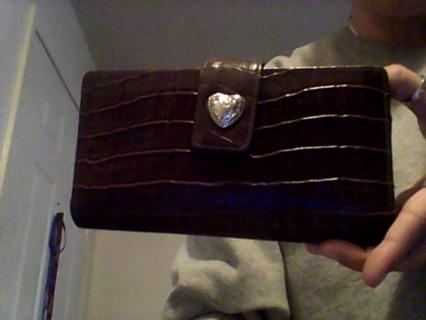 Dark Brown Ladies Wallet