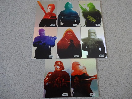 Journey to Star Wars The Force Awakens Foil Card Set