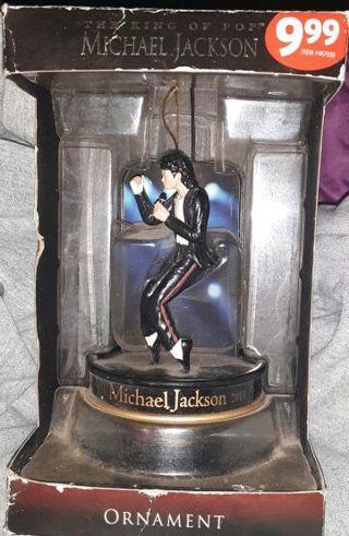 Michael Jackson XMAS ornament in original packaging. FREE SHIPPING