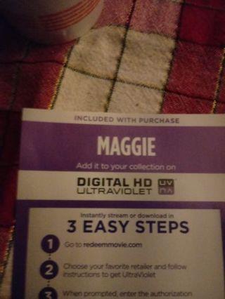 Maggie VUDU Code