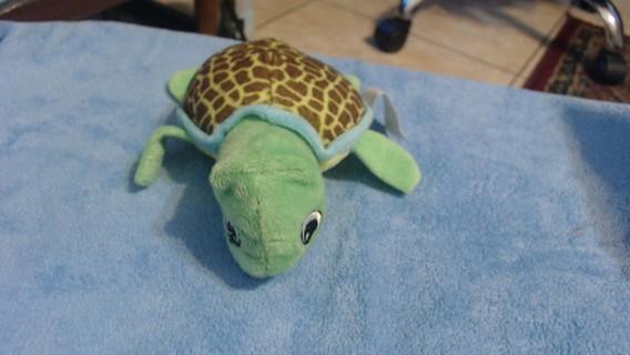 Stuffed soft Turtle toy.