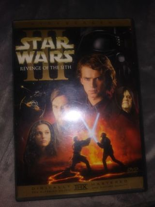 Star wars 3 Revenge of the Sith DVD widescreen2 disc set