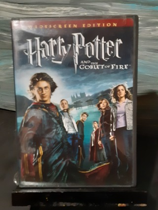 HARRY POTTER ~ GOBLET OF FIRE DVD