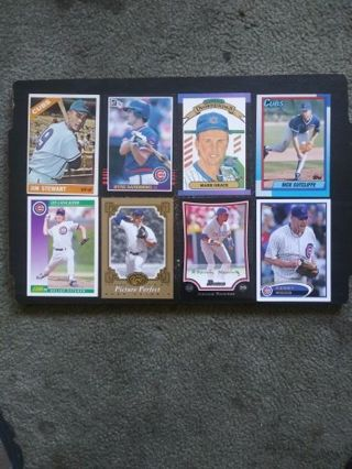 60's-2012 Chicago Cubs Lot Of 8