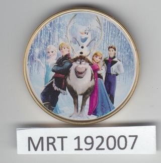 2015 Frozen Painted Collectible Coin MRT192007