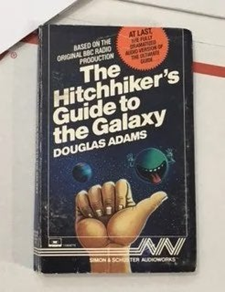 VINTAGE HITCHHIKERS GUIDE TO THE GALAXY