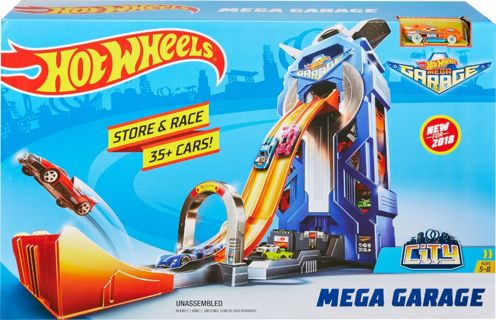 Hot Wheels - City Mega Garage Play Set