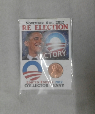 Special Obama Cent still in it's ORIGINAL Packing- See Frame # 1