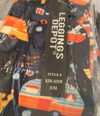 Kids Small Happy Camper Leggings Size 3T-6 New Free shipping