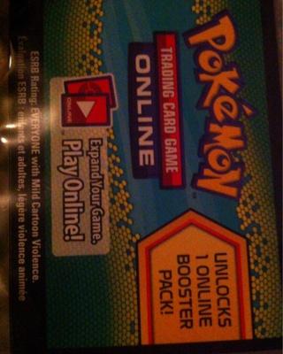 Online pokemon code