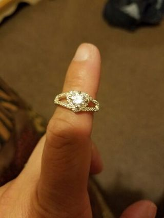 Diamond Heart shape ring