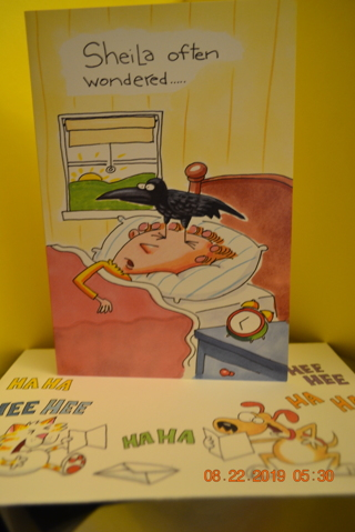 ****LIGHT HEARTED GREETINGS BIRTHDAY CARD W/MATCHING ENVELOPE***FREE SHIPPING