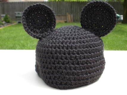 Free Crochet Infant Mickey Or Minnie Mouse Hat Other Baby Items