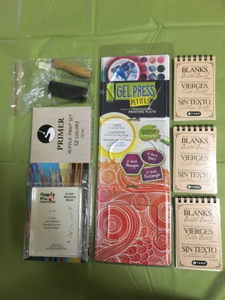 Gel Press Printing Plate Set