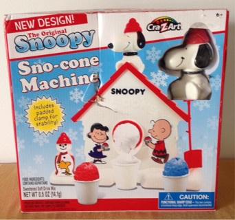 ❌The Original Snoopy Sno-Cone Machine❌