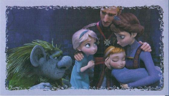 free frozen disney movie sticker 26 family and papa troll for