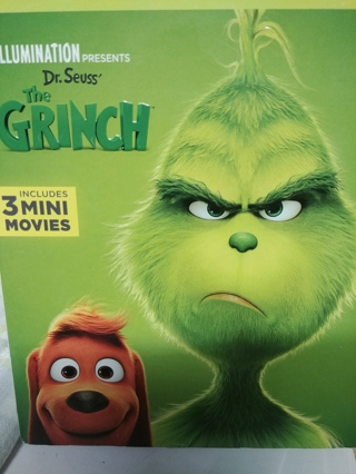 The GRINCH(( 2018 RELEASE)) BLU-RAY