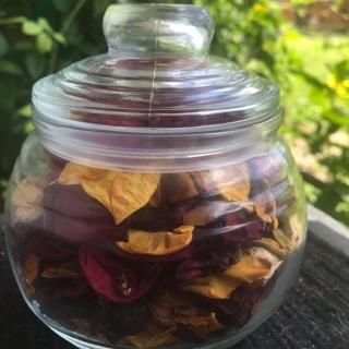 Rose Potpourri in Jar