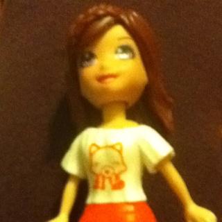 Polly Pocket Doll Lila