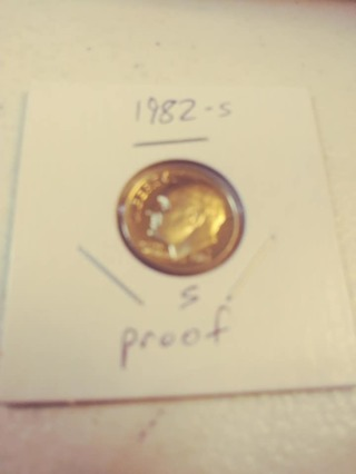 1982-S Proof Cameo Roosevelt Dime! 586