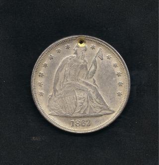 1862 Silver Dollar COPY