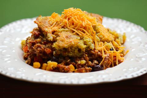 cheesy crockpot tamale pie recipe