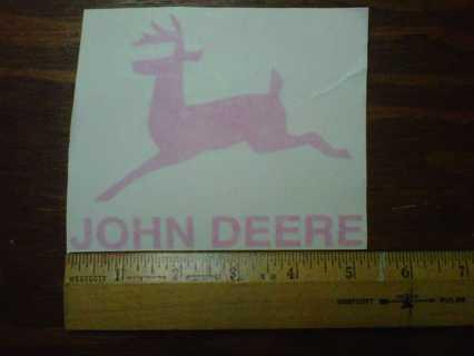 Free Ladies Night Auctionsjohn Deere Vinyl Decal Sticker In Pink