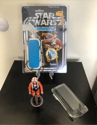Star Wars Luke Skywalker XWing pilot  1978  Rare