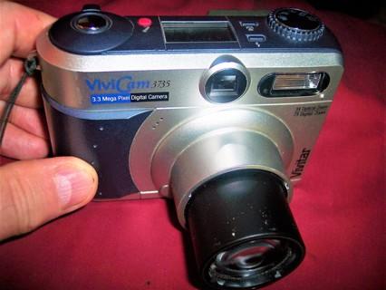 Vivitar Vivicam 3735 3.3 MP Digital Camera