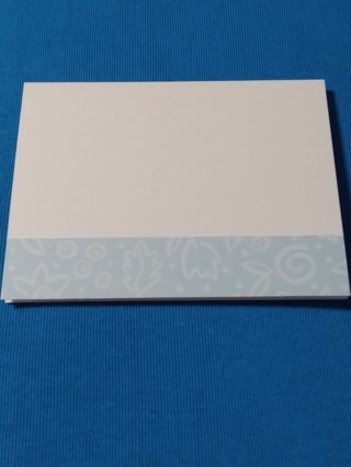 Mom Notecards - Blue