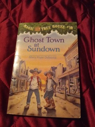 Used Magic Tree House Book Ghost Town at Sundown