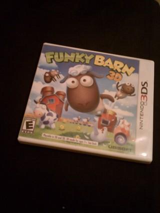 Funky Barn 3D Nintendo 3DS