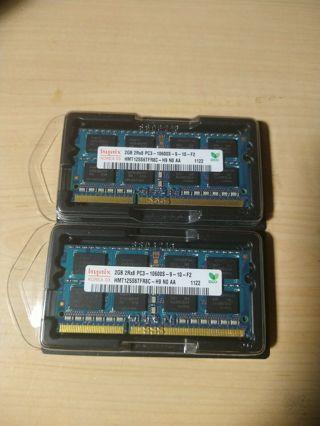 Sk Hynix 2x2GB 2rx8 PC3-10600S DIMM - READ FIRST!