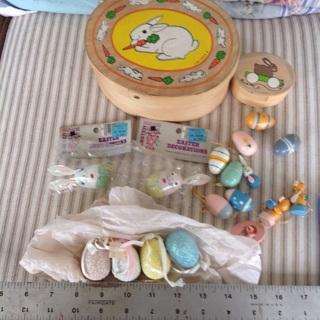 Vintage Easter decorations !