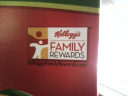 1 KELLOGGS FAMILY REWARDS CODE!!!!!