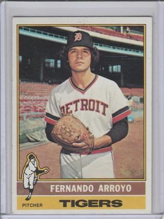1976 TOPPS FERNANDO ARROYO CARD