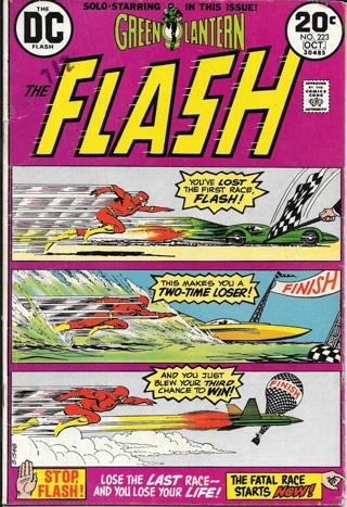 Flash DC Comics #223