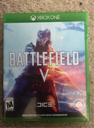 Battlefield 5 Xbox free shipping