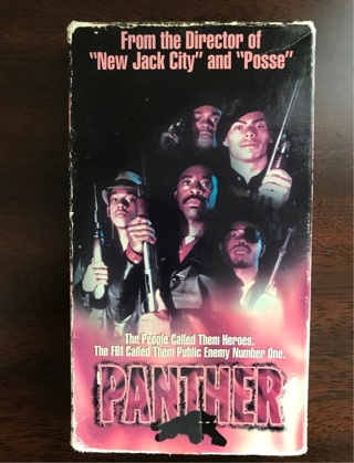 Panther VHS