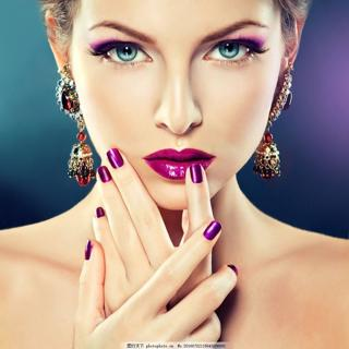 Squoval fake nails short size Solid color Diy Nail Art 18 color Purple White Orange Accessory 24 P