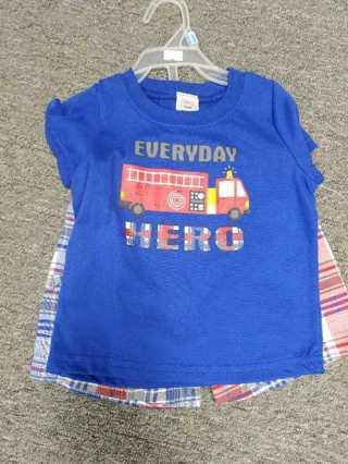 NWT! Swiggles Boys Shirt--Size 12mos (You will only get the shirt!)