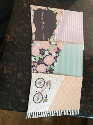 Folders for blisty planner